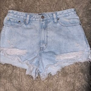 Abercrombie and Fitch highwaisted shorts